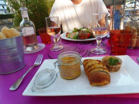 Hôtel La Pêcherie : Succulent foie gras .LE TOP .MERCI.