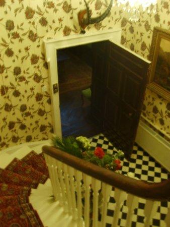 Nenagh, Ireland: staircase