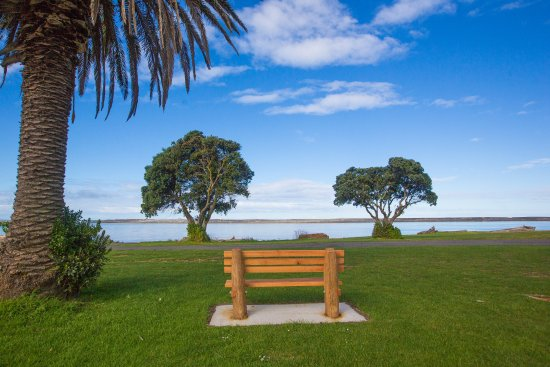 Seating along the Wairoa River & Bicycle Track