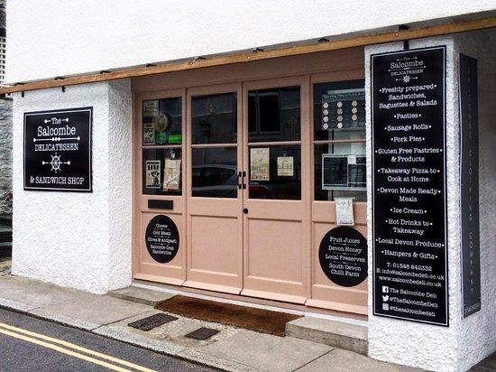 The Salcombe Delicatessen: Shop Front