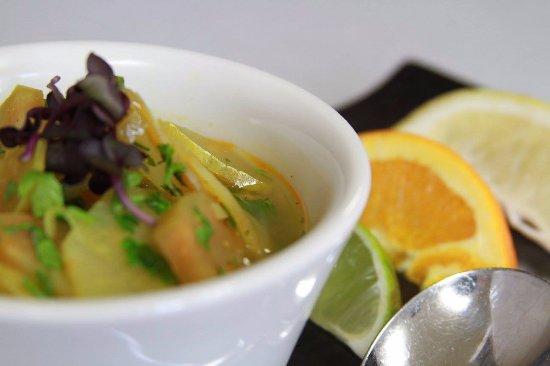 Trego, Висконсин: Chef's choice soup