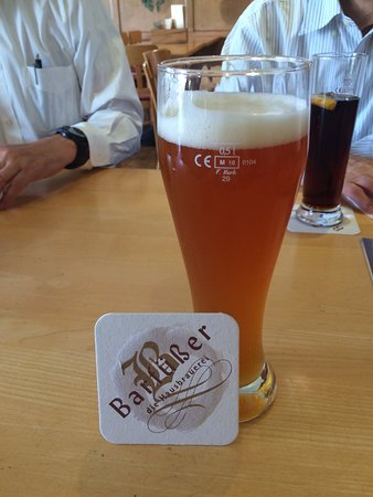 Barfuesser die Hausbrauerei: inhouse made beer at Barfuesser