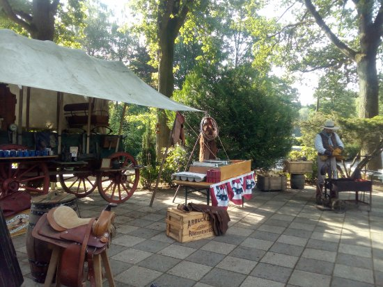 Kerken, Deutschland: Breakfast at the Chuckwagon