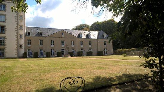 Résidence Odalys Le Château de Kéravéon: un parc trés agréable... et calme !