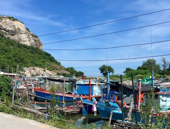 Sunshine Guest House Hua Hin: Fiskebåter