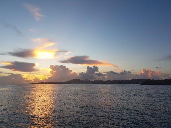 Aqua Marine Dive Center: Sunset Before Night Dive!
