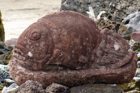 Opoa, Polinesia francese: Pétrogrlyphe