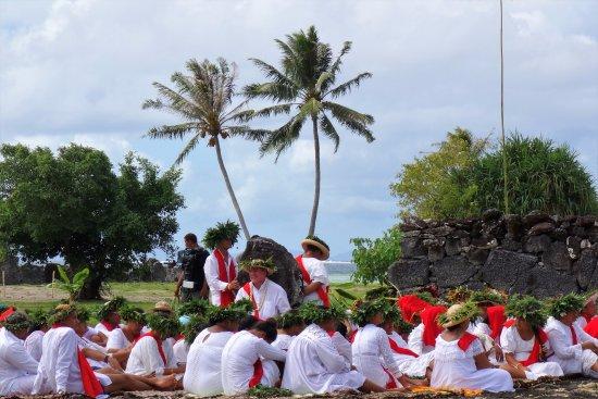 Opoa, Polinesia francese: Journée du patrimoine mondial de l'Unesco