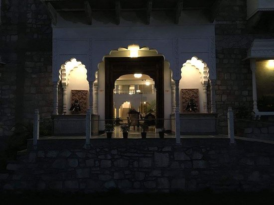 Rajasthan Palace Hotel: Architectural features