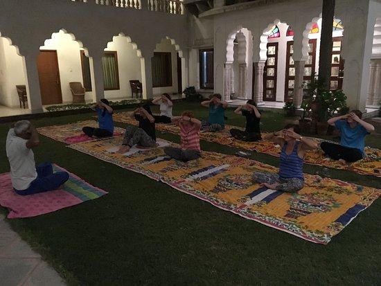 Rajasthan Palace Hotel: Yoga class