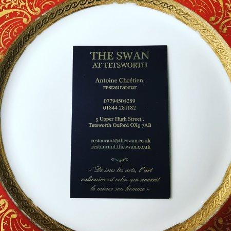 Thame, UK: @the swan at Tetsworth