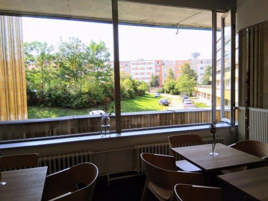 Pardubice, Czech Republic: Výhled z okna