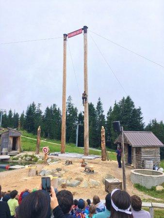Норт-Ванкувер, Канада: Lumberjack show