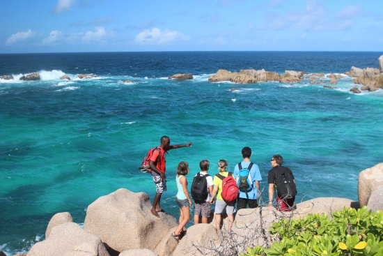 La Digue, Seychellerna: Adventure tour