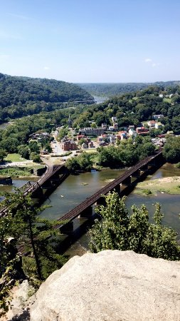 View From The Maryland Heights Overlook Picture Of Harpers Ferry - Trip advisor harpers ferry