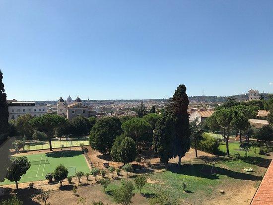 Panorama di Roma dalla terrazza - Picture of La Terrazza, Rome ...