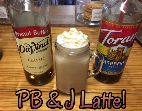 Alliance, OH: PB & J Latte!