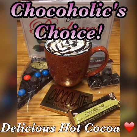 Alliance, OH: Chocoholics Choice hot cocoa! Our richest hot cocoa!