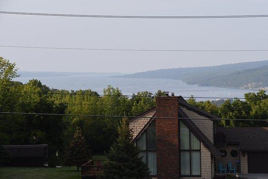 Montour Falls, Estado de Nueva York: View of Lake Seneca