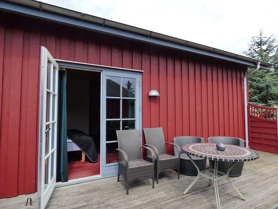 Jaegerspris, Denmark: Terasse