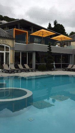 Chateau des thermes h tel chaudfontaine belgique voir for Chaudfontaine piscine
