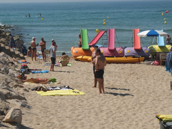 Hotel El Cid: Sitges beach, just chilling out!