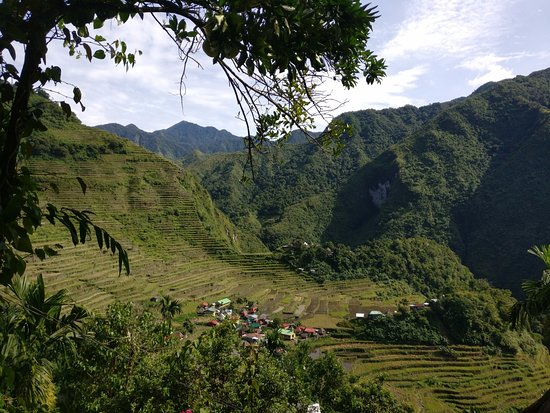 Batad, Filipinler: View from the dining area.
