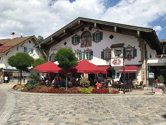 Recht Ordentlich Hotel Alte Post Restaurant Oberammergau