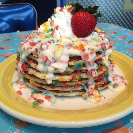 fruity pebbles pancakes picture of big daddy s new york city