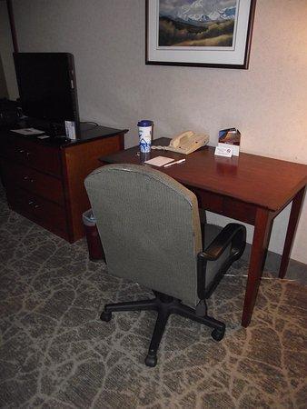 Westmark Anchorage: ALASKA   ANCHORAGE   WESTMARK HOTEL #3   ROOM   DESK U0026
