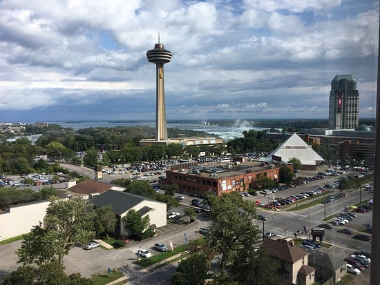 DoubleTree Fallsview Resort & Spa by Hilton - Niagara Falls: View from room 1209