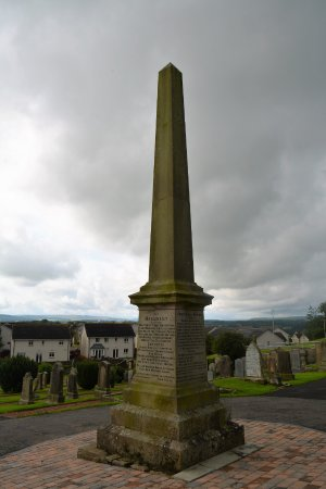 Lanark Covenanter Monument