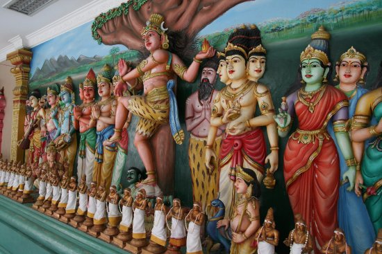 Sri Maha Mariamman Temple: Representações