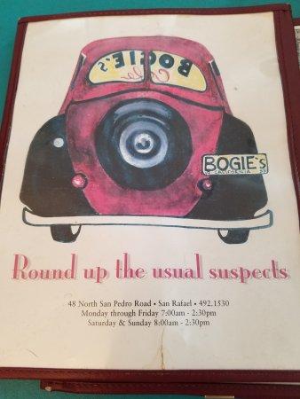 Bogie's Cafe: Bogie's