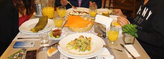 Hotel Oaxaca Real: food