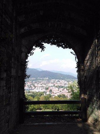 Rocca di Bergamo : pogled