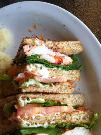 Sea Gull Restaurant : Lobster club; big chunks of lobster; delish.