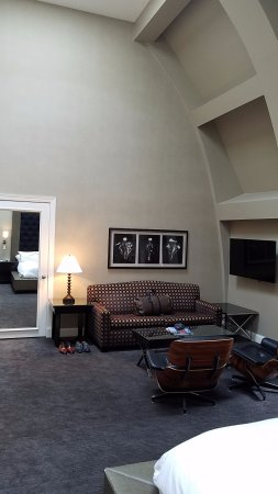 Master bedroom sitting area with TV - Picture of The ...