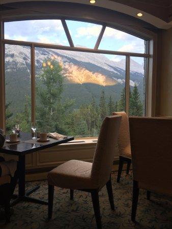 Rimrock Resort Hotel: View from the primrose restaurant