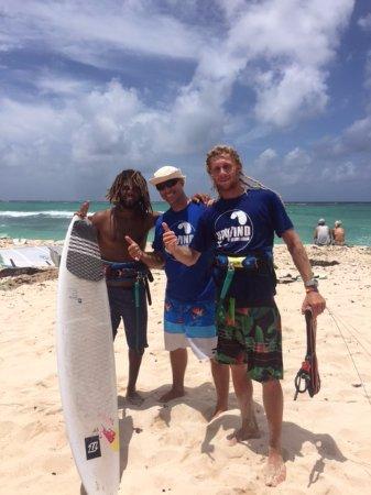 Silver Sands, باربادوس: Strapless World Champion Airton Cozzolino in Barbados