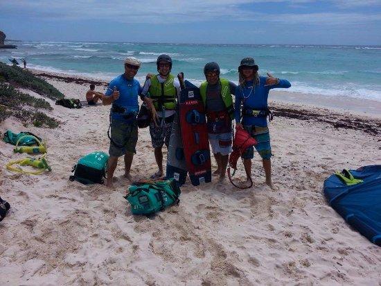 Silver Sands, باربادوس: Happy Clients Happy Instructors