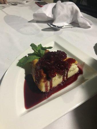 Restaurante Camaura: tarta queso