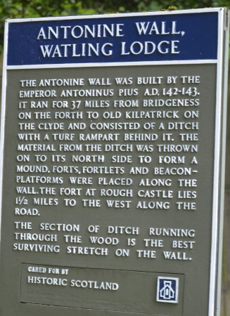 Antonine Roman Wall (Watling Lodge section)