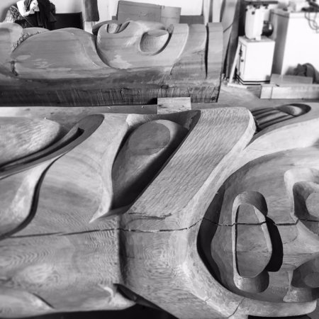 Campbell River, Canadá: Carving Shack exploration and learnings