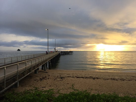 The Palms At Palm Cove: The Palm Cove Jetty at Sunrise