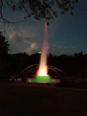 Foto de City of Alliance Central Park Fountain