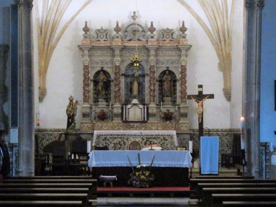 Batalha, Πορτογαλία: Igreja Matriz da Exaltação de Santa Cruz - altar mor