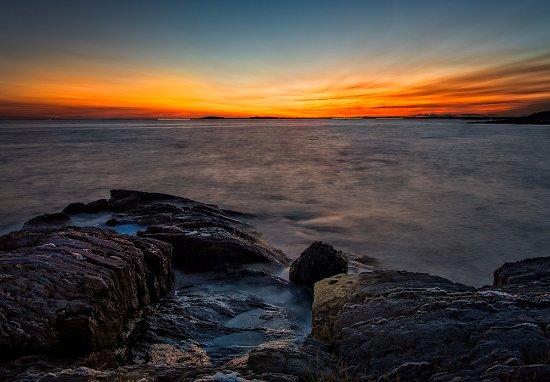 Phippsburg, Μέιν: Hermit Island sunset
