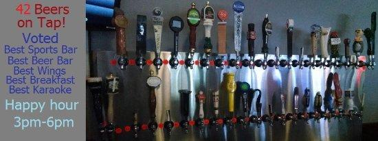 Vandalia, OH: beer taps