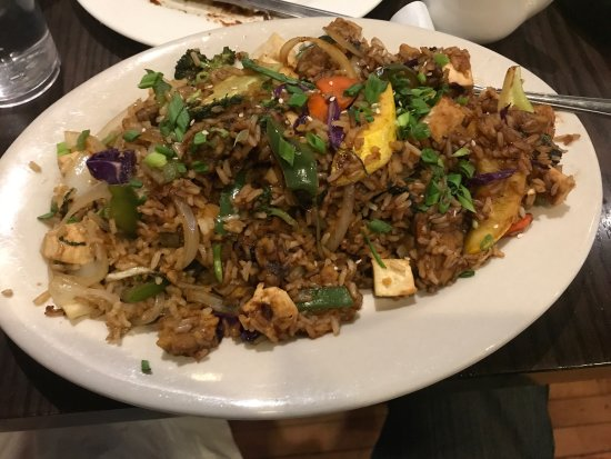 The Chicago Diner : Huge portions and great options